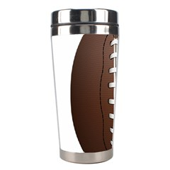 Football Ball Stainless Steel Travel Tumblers by BangZart