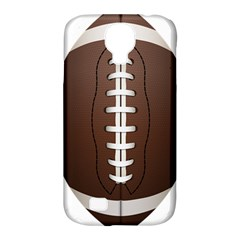 Football Ball Samsung Galaxy S4 Classic Hardshell Case (pc+silicone)