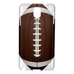 Football Ball Samsung Galaxy Note 3 N9005 Hardshell Case by BangZart