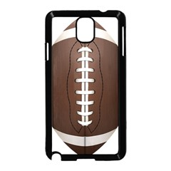 Football Ball Samsung Galaxy Note 3 Neo Hardshell Case (black) by BangZart