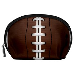 Football Ball Accessory Pouches (large)  by BangZart