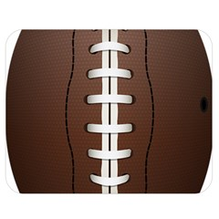 Football Ball Double Sided Flano Blanket (medium)  by BangZart