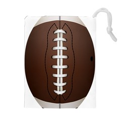 Football Ball Drawstring Pouches (extra Large)