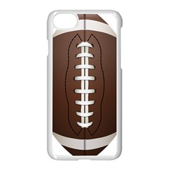 Football Ball Apple Iphone 7 Seamless Case (white) by BangZart