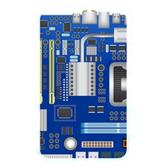 Classic Blue Computer Mainboard Memory Card Reader