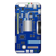 Classic Blue Computer Mainboard Iphone 6 Plus/6s Plus Tpu Case by BangZart