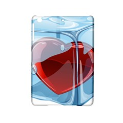 Heart In Ice Cube Ipad Mini 2 Hardshell Cases by BangZart