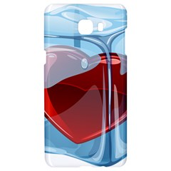 Heart In Ice Cube Samsung C9 Pro Hardshell Case
