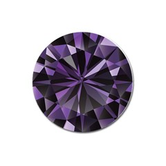 Amethyst Magnet 3  (round) by BangZart