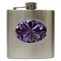 Amethyst Hip Flask (6 Oz)