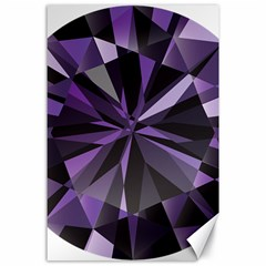 Amethyst Canvas 24  X 36