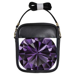 Amethyst Girls Sling Bags by BangZart