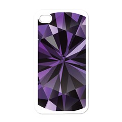 Amethyst Apple Iphone 4 Case (white) by BangZart