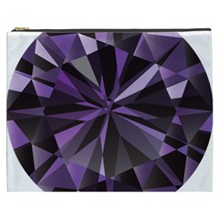 Amethyst Cosmetic Bag (xxxl)  by BangZart