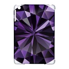 Amethyst Apple Ipad Mini Hardshell Case (compatible With Smart Cover) by BangZart