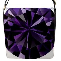 Amethyst Flap Messenger Bag (s)