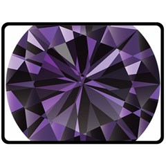 Amethyst Double Sided Fleece Blanket (large)  by BangZart