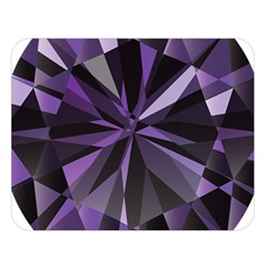 Amethyst Double Sided Flano Blanket (large)  by BangZart