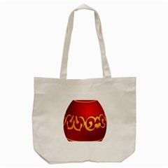 Easter Decorative Red Egg Tote Bag (cream) by BangZart