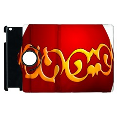 Easter Decorative Red Egg Apple Ipad 3/4 Flip 360 Case by BangZart