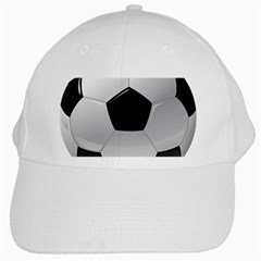 Soccer Ball White Cap by BangZart