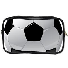 Soccer Ball Toiletries Bags 2 Side by BangZart