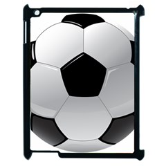 Soccer Ball Apple Ipad 2 Case (black) by BangZart