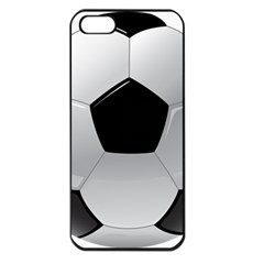 Soccer Ball Apple Iphone 5 Seamless Case (black)