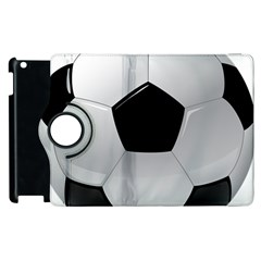 Soccer Ball Apple Ipad 3/4 Flip 360 Case by BangZart