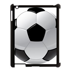 Soccer Ball Apple Ipad 3/4 Case (black) by BangZart