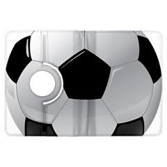 Soccer Ball Kindle Fire Hdx Flip 360 Case by BangZart