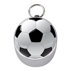 Soccer Ball Mini Silver Compasses by BangZart