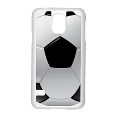 Soccer Ball Samsung Galaxy S5 Case (white) by BangZart