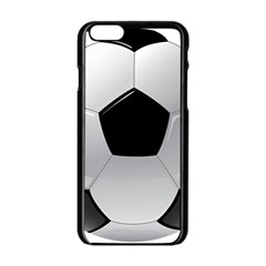 Soccer Ball Apple Iphone 6/6s Black Enamel Case by BangZart