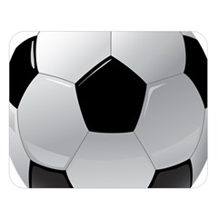 Soccer Ball Double Sided Flano Blanket (large)  by BangZart