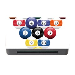 Racked Billiard Pool Balls Memory Card Reader With Cf