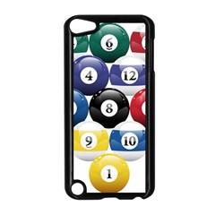 Racked Billiard Pool Balls Apple Ipod Touch 5 Case (black) by BangZart