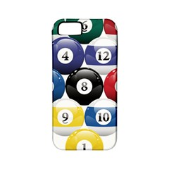 Racked Billiard Pool Balls Apple Iphone 5 Classic Hardshell Case (pc+silicone) by BangZart