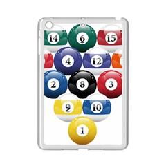 Racked Billiard Pool Balls Ipad Mini 2 Enamel Coated Cases