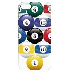 Racked Billiard Pool Balls Apple Iphone 5 Hardshell Case With Stand