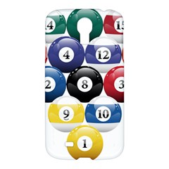 Racked Billiard Pool Balls Samsung Galaxy S4 I9500/i9505 Hardshell Case by BangZart