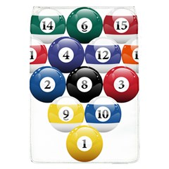 Racked Billiard Pool Balls Flap Covers (l)  by BangZart