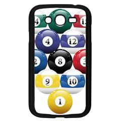 Racked Billiard Pool Balls Samsung Galaxy Grand Duos I9082 Case (black)