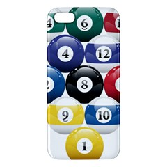 Racked Billiard Pool Balls Iphone 5s/ Se Premium Hardshell Case by BangZart