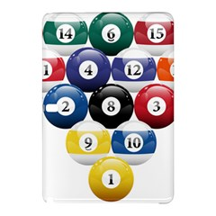 Racked Billiard Pool Balls Samsung Galaxy Tab Pro 12 2 Hardshell Case by BangZart