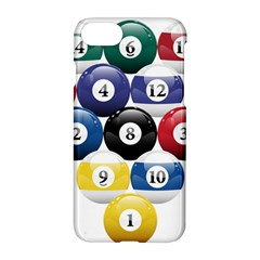Racked Billiard Pool Balls Apple Iphone 7 Hardshell Case by BangZart