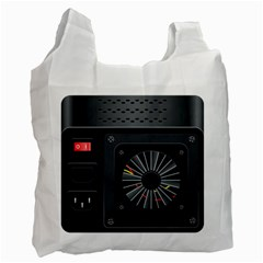Special Black Power Supply Computer Recycle Bag (one Side)