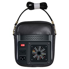 Special Black Power Supply Computer Girls Sling Bags