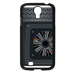 Special Black Power Supply Computer Samsung Galaxy S4 I9500/ I9505 Case (black) by BangZart