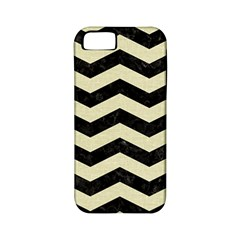 Chevron3 Black Marble & Beige Linen Apple Iphone 5 Classic Hardshell Case (pc+silicone) by trendistuff